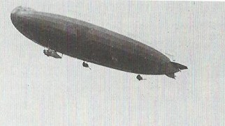 Zeppelin L.41 returning to Ahlhorn on the morning of 22 August 1917